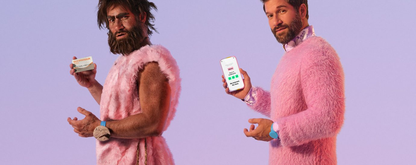 Klarna looks at the history and future of payments its latest interactive campaign.